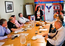 Toastmaster training courses so that you may learn to be a toastmaster and master of ceremonies