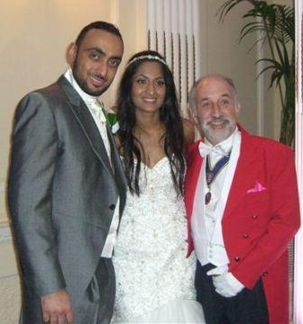 Asian Wedding Toastmaster gets married  CONGRATULATIONS