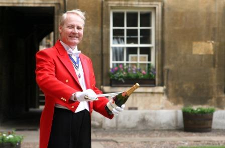 Cambridge Toastmaster and Master of Ceremonies Mark Anstead