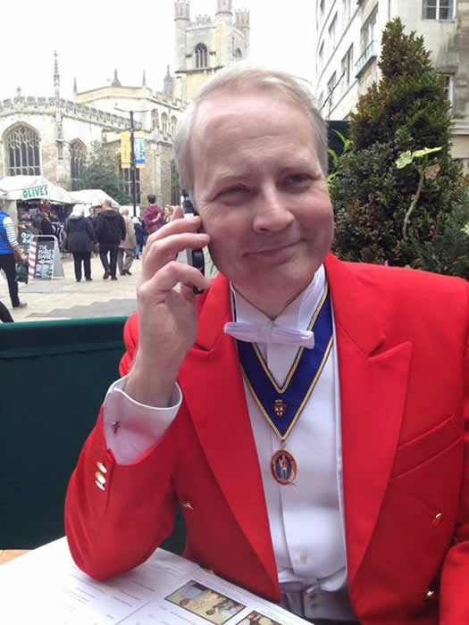 Essex and Cambridge Toastmaster and Master of Ceremonies