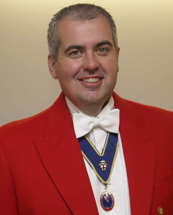 Essex wedding and Masonic Toastmaster Colin Whitehead