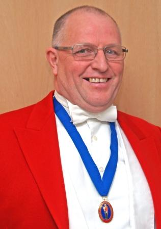 Dorset Toastmaster and Master of Ceremonies Terry Hughes