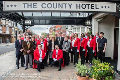 Our St. Georges Day meeting at The County Hotel Chelmsford. It is the team work that we are proud of.