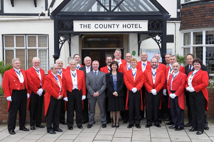 English Toastmasters Association Trafalgar Day Meeting at The County Hotel, Chelmsford Essex with wedding, Masonic and event toastmasters