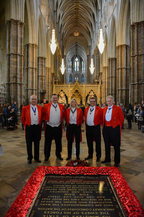 English Toastmasters at The Cenotaph