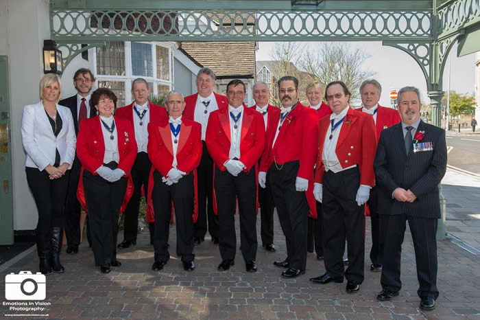 English Toastmasters Association St. George's Day meeting at The County Hotel, Chelmsford, Essex
