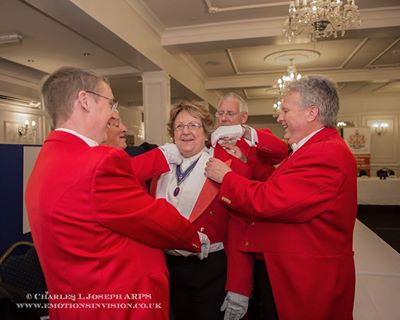 Lady toastmaster in Essex Krystyna Thompson
