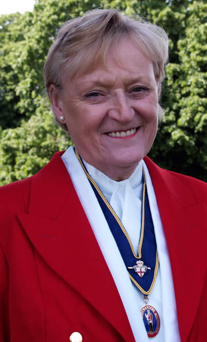 Essex based toastmaster and master of ceremonies Joan Graham