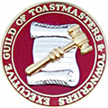 Logo of the Executive Guild of Toastmasters and Towncriers