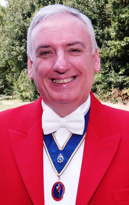 Hertfordshire toastmaster George Marshall loves weddings and Masonic Ladies Festivals
