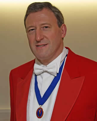 Lancashire toastmaster, Kevin Goodwin