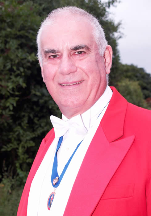 Kent based Toastmaster and Master of Ceremonies David DiCara