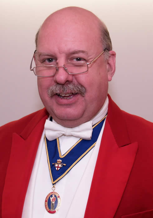 London, Surrey and Middlesex toastmaster Roger Round