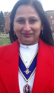 Sonal Dave Toastmaster works in the UK and World Wide