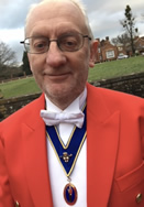 Hampshire Toastmaster Mike Denny