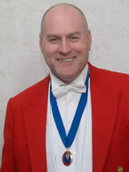Adrian Hayes - toastmaster