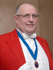 Terry Hughes - toastmaster