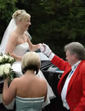 Essex Wedding Toastmaster Richard Palmer wedding day for Bride and Groom