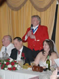 Essex Wedding Toastmaster Richard Palmer at Vaulty Manor for Civil Ceremony Wedding Breakfast and evening party