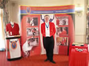 English Toastmasters Association wedding toastmaster fair fayre stand