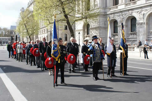 The English Toastmasters Association at The Cenotaph