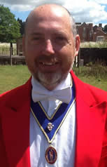 Kent weddings and events toastmaster Simon Chapman