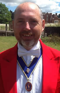 Kent Toastmaster and Master of Ceremonies Simon Chapman