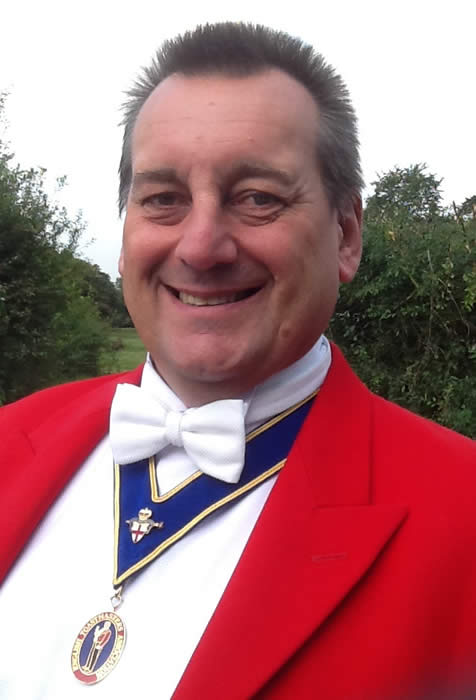 Surrey Wedding Toastmaster and Master of Ceremonies Mark Elphick