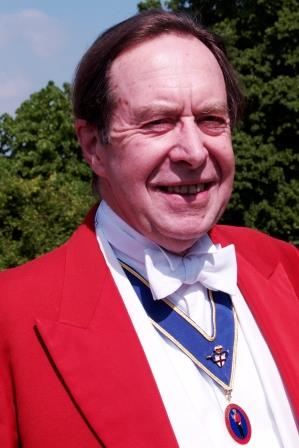 Sussex toastmaster and master of ceremonies Michael Orpen - Palmer