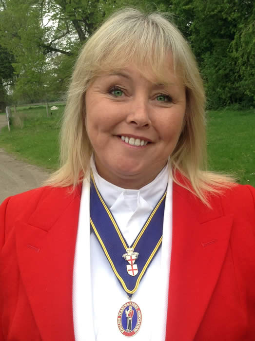 Cheryl-Ann Robbins our new Toastmaster from East Sussex