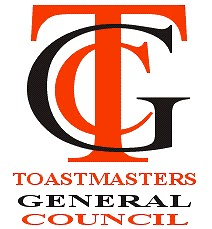 Logo for the Toastmasters General Council