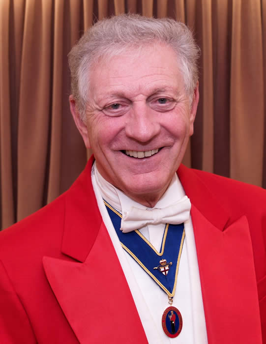 Cambridgeshire, Hertfordshire and Bedfordshire Toastmaster and Master of Ceremonies Les Ames