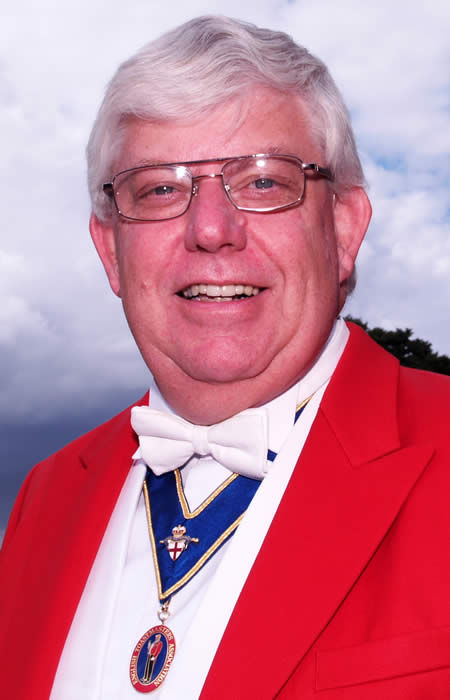Essex Toastmaster and Master of Ceremonies Mike Eldred
