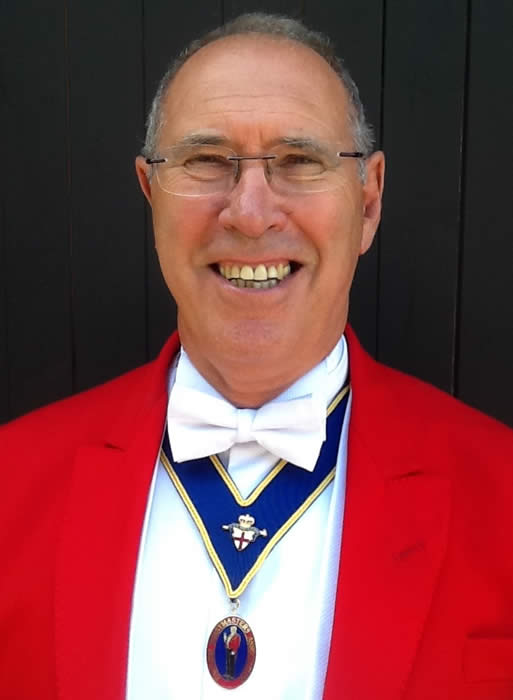 Essex based toastmaster Trevor Ducker - Director of Ceremonies