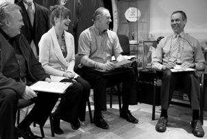 Toastmasters at the English Toastmasters Association at our first MasterMind Group meeting in January 2012