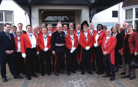 Toastmasters meeting to celebrate St. George's Day at The County Hotel Chelmsford Essex