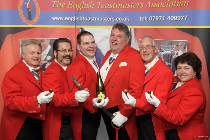 Toastmasters that offer Sabrage at weddings and events