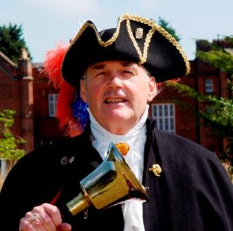 Lincolnshire Town Crier working between London and his home town in Lincolnshire
