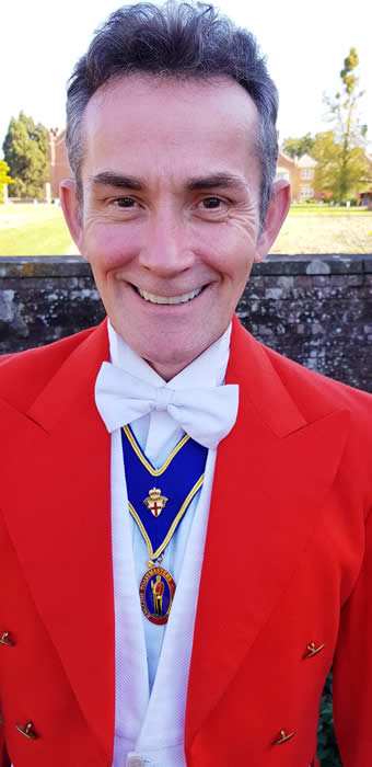 Essex based wedding and events toastmaster Wayne Griffiths