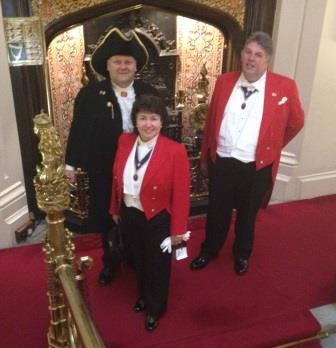 Westminster Toastmasters and Town Crier Celebrate St. George's Day with The Royal Society of St. George