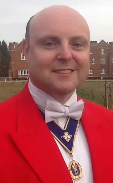 Toastmaster Will Buckley