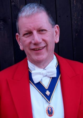 Essex Toastmaster and Master of Ceremonies Pete O'Driscoll