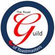 Logo of the Royal Guild of Toastmasters