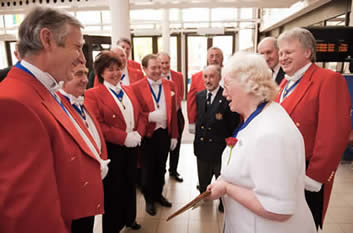 Toastmasters Meeting with excursion to meet the Chairman of Essex County Council at County Hall, Chelmsford, Essex, to deliver a St. George's Day greeting