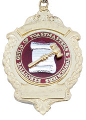 Logo of the Executive Guild of Toastmasters and Town Criers