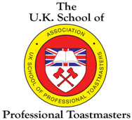 Logo of the UK School of Professional Toastmasters