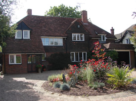 Front of Wych Elm Bed & Breakfast in Danbury, Chelmsford, Essex
