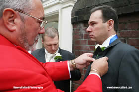 Professional wedding toastmaster for hire in Essex