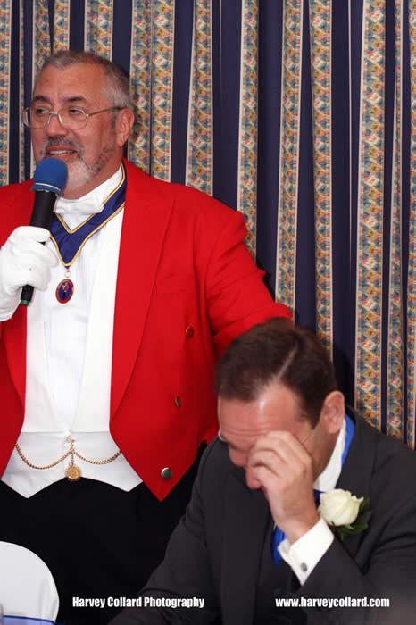 Professional Wedding Toastmaster