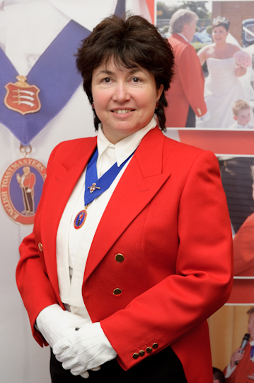 Essex Wedding Lady Toastmaster member of English Toastmasters Assocation
